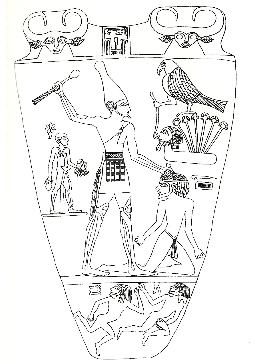 an analysis of ancient egyptian king narmers palette King narmer was an ancient egyptian king that is  what is narmers  the site is perhaps best known as the home of the exquisite ceremonial narmer palette.